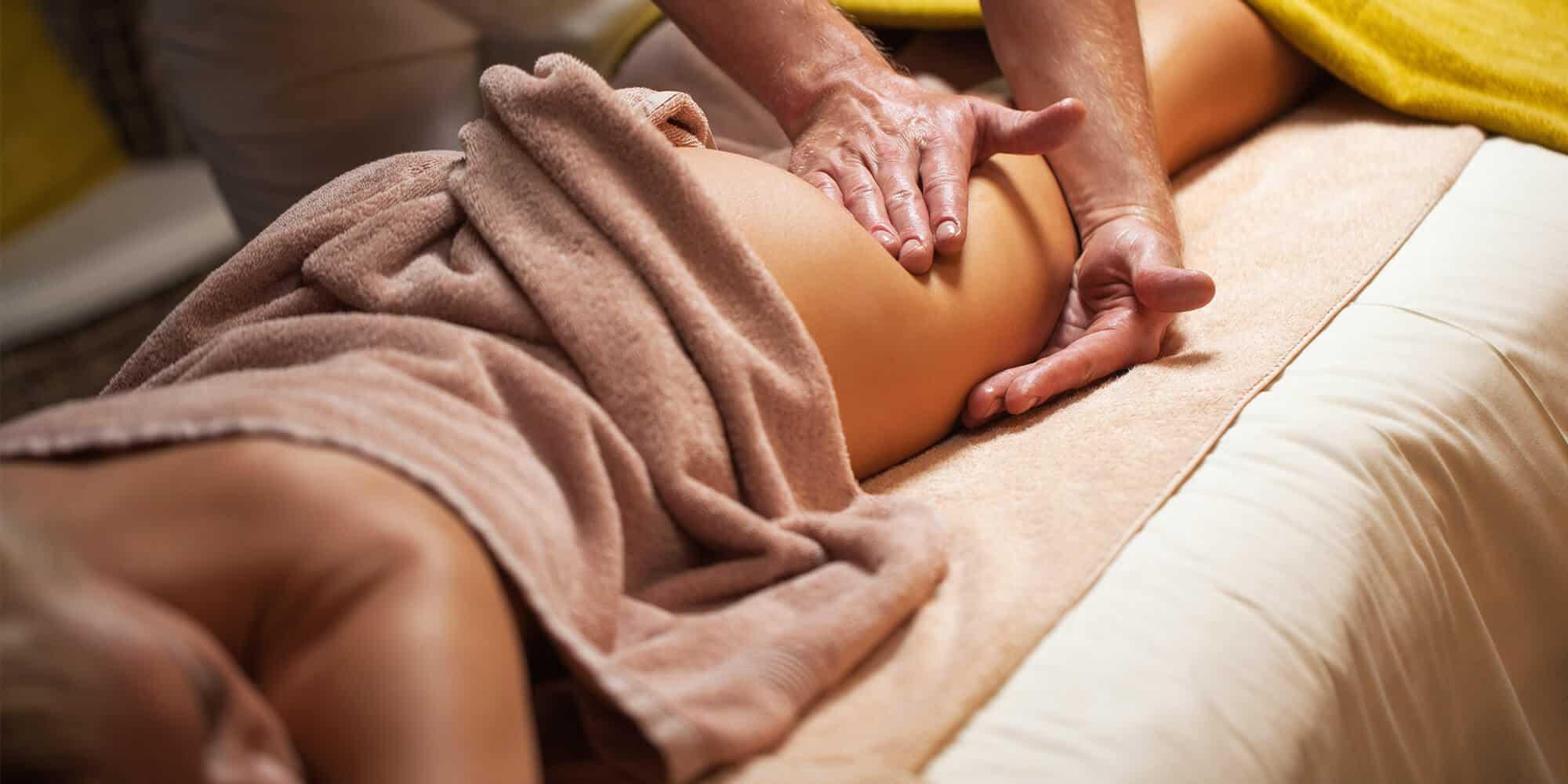 лимфодренажній массаж