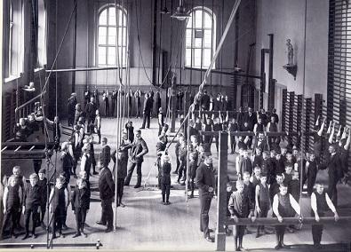 институ гимнастики в Стокгольме