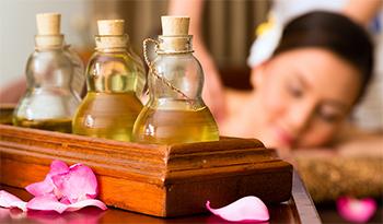 масло для массажа эфирное
